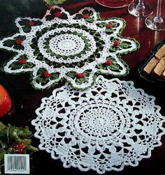 Crochet Christmas Doily Patterns   Click here to Enlarge