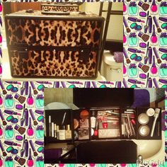 My new makeup box...in lovee  by mkenzia