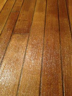 Concrete/wood floors