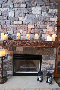 52 Best Cool Stone Fireplaces Images In 2017 Stone