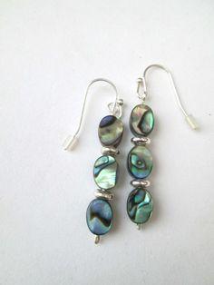 Abalone earrings £4.50