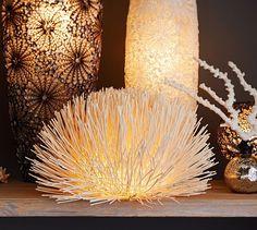 Beach House Decorating | 5 Coastal Lamps to Light Up Your World! | http://nauticalcottageblog.com