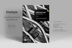 Kreatype Multipurpose Brochure by Kreatype Studio on @creativemarket