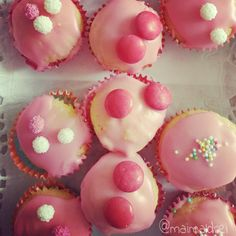 knallpinke Muffins, Backfreude, backen, maimaldrei
