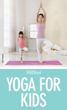 Yoga for kids: How to calm little minds family bonding time, family bonding ideas Kids Yoga Poses, Yoga Poses For Beginners, Yoga For Kids, Exercise For Kids, Workout For Beginners, Family Yoga, Family Bonding, Childrens Yoga, Todays Parent
