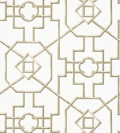 Bamboo Lattice - Beige wallpaper, from the Enchantment collection by Thibaut Wallpaper Azul, Dining Room Wallpaper, Beige Wallpaper, Trellis Wallpaper, Painting Wallpaper, Bathroom Wallpaper, Fabric Wallpaper, Wall Wallpaper, Swedish Wallpaper