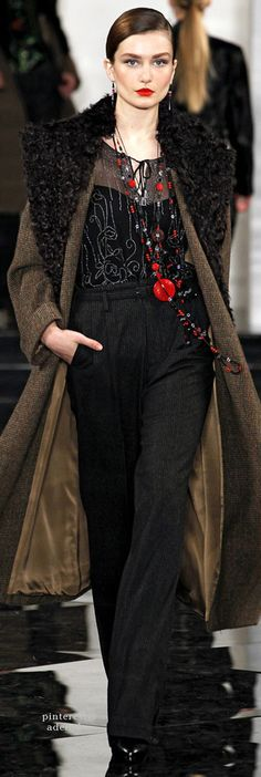 Ralph Lauren, Autumn/Winter 2011, Ready to Wear
