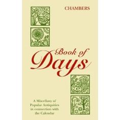 Book of Days (Chambers)