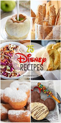25 Disney Inspired Recipes from all your favorite places in the park. If you lov… 25 Disney Inspired Recipes from all your favorite places in the park. If you love Disney food & recipes, you will love all these inspired dishes. Dig in! Disney Desserts, Disney Dishes, Disney Snacks, Disney Food Recipes, Food Recipes For Kids, Cat Recipes, Healthy Recipes, Disney Themed Food, Disney Inspired Food