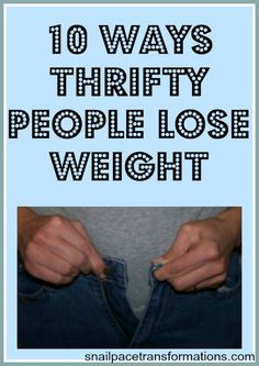 Are you wanting to lose weight? Here are 10 ways to lose weight inexpensively.