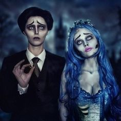 The Corpse Bride Couples Costumes