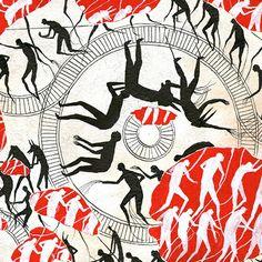 """""""Frenchie"""" es una pieza de la mexicana Indi Maverick, ilustradora y diseñadora cuya obra está influenciada por las mujeres y los animales."""