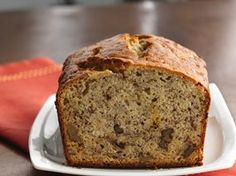 Banana Bread Recipe from Betty Crocker * making these today, only with chocolate chips added! *