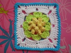366 granny's-project 2012 - l the cutest granny squares here