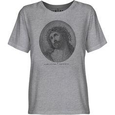 Mintage Single Line Jesus Christ Youth Fine Jersey T-Shirt
