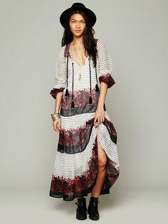 Mes Demoiselles Paris Solene Maxi Dress
