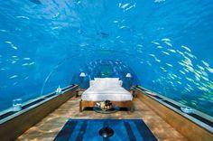 Chambre sous-marine - Hôtel Conrad Maldives