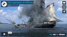 The #explosion of a #sailship CGI video http://www.amatimodel.com/it/blog/item/the-explosion-of-sailship