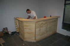 Comment fabriquer un bar soi-même – Plan et guide avec les photos Plan pour construire un bar 13 – BricoBistro
