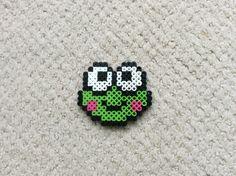 Perler beads frog
