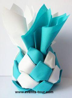 Distributeur De Serviette Ananas N°1 (x1) Napkin Folding, Cloth Napkins,