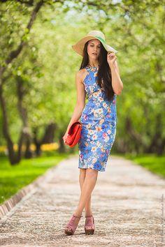 Yana P - Zara Dress, Vj Style Heels, Zara Clutch, H&M Hat - My feet will not stay on the ground