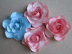 Скрапбукинг Цветы из бумаги с закрытым бутоном Видео мастер-класс как сделать розу - YouTube