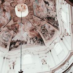 painted ceilings  travel explore adventure