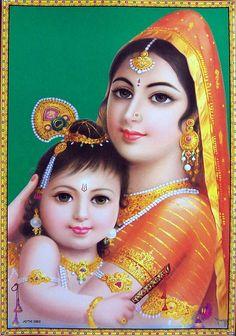 The 64 Best Yashoda K Kanha Images On Pinterest Yashoda Krishna