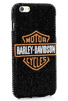 Harley Davidson Design iPhone 6s Plus case bling phone cover cool style phone accessories for men