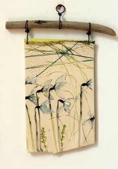 28cm x 15cm. Can be seen at Saltbox Gallery. Sold.