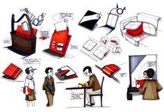 Julie Poulain sketches - 2012