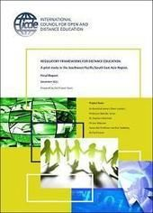 ICDE » The Regulatory Frameworks for Distance Education - ICDE study published