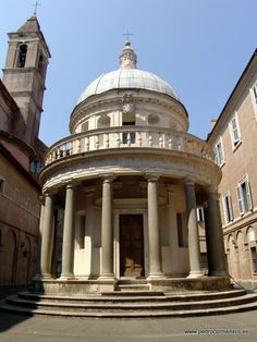 El Templete de Montorio, Roma Italia