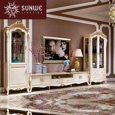 HW160641 - Consoles - Living Room - CLASSICAL FURNITURE - FURNITURE - SUNWE LUXURY LIVING