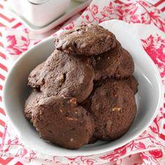 Doble chocolate Galletas de la pacana
