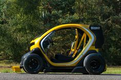 Renault Twizy F1 profile
