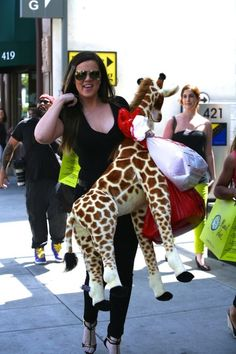Awesomeness! I want a giraffe too!