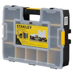 Tool Organizer Case Toolbox Screws Storage Box Small Compartment Sort Workshop #Stanley
