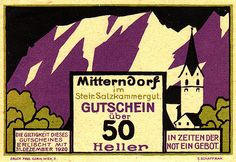 german notgeld, from a beautiful set on flickr