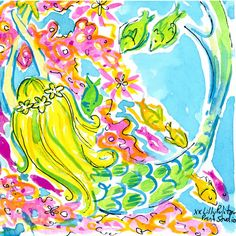 It's oFISHally the weekend. #lilly5x5 SummerInLilly