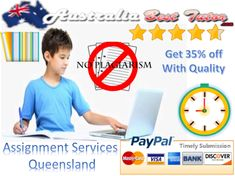 Australia Best Tutor is offering Assignment Services with additional offer for  Queensland universities students. When academic challenges are too high and insurmountable, the students can make use of high end educational service provider's help and gain excellent results from the same.