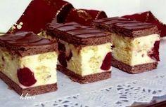 Archívy Zákusky - Page 18 of 78 - Receptik. Hungarian Desserts, Hungarian Recipes, Cookie Recipes, Dessert Recipes, Cherry Desserts, Czech Recipes, Croatian Recipes, Just Eat It, Homemade Chocolate