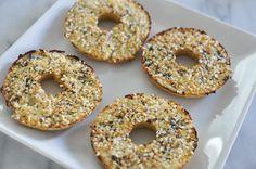 Paleo Everything Cauliflower Bagels - make them in a donut pan!!!
