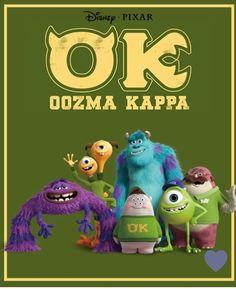 "OK - Monsters University ""We are OK!!"""