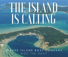 The island is calling! Beaver Island Boat Company will whisk you away to natural beauty. Lake Michigan, Dream Vacations, Road Trips, Travel Inspiration, Natural Beauty, Places To Visit, Bucket, Camping