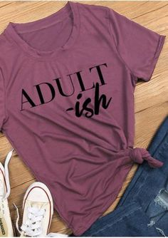 Adult Short Sleeve T-Shirt without Necklace