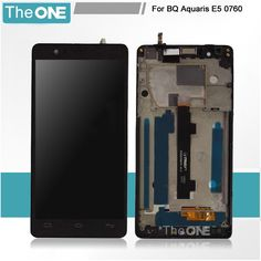 63.00$  Buy here - http://aliorq.worldwells.pw/go.php?t=32657124420 - Replacement For BQ Aquaris E5 FHD Complete LCD+Tactil Touch Screen Digitizer Pantalla IPS5K0760FPC-A1-E With Frame