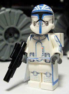 Captain Rex Custom Lego Star Wars lego star wars lego lego
