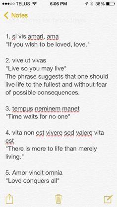 New Quotes Tattoo Latin Sayings Ideas Tattoo Latin, Latin Quote Tattoos, Latin Quotes, Now Quotes, Short Quotes, Funny Quotes, Life Quotes, Latin Sayings, Spanish Quotes Tattoos